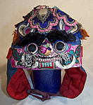 Chinese Silk Appliqué Child Tiger Hat