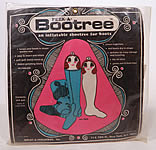 Vintage Peek A Bootree Inflatable Shoetree Boots Pair Retro Mod Women Unused MIP